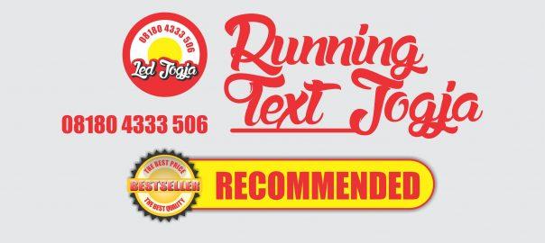 jual running text murah di jogja
