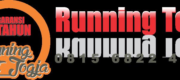 logo running text di jogja